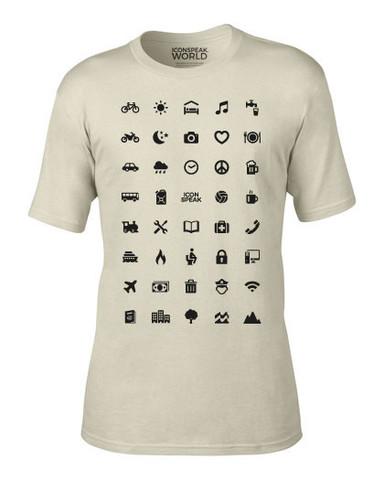 Se pone esta extrana camiseta para ir a todas partes 01